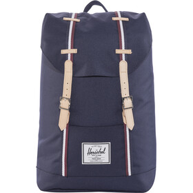 Herschel Retreat Backpack 19,5l, peacoat/windsor wine/white